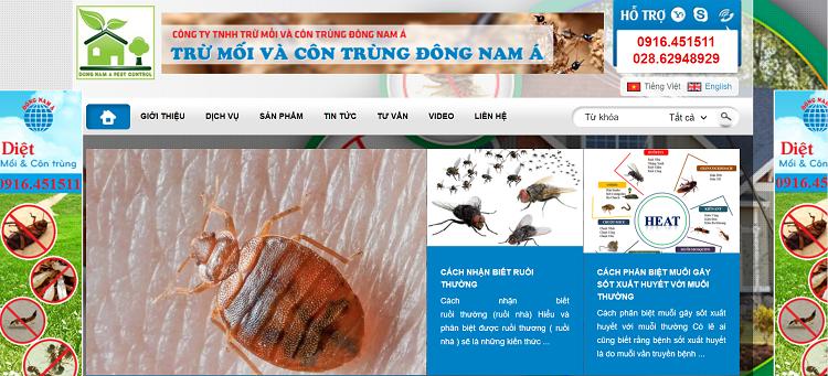 Công ty TNHH trừ mối và côn trùng Đông Nam Á