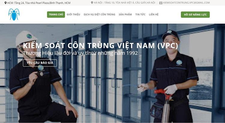 Kiểm soát côn trùng Việt Nam – VPC