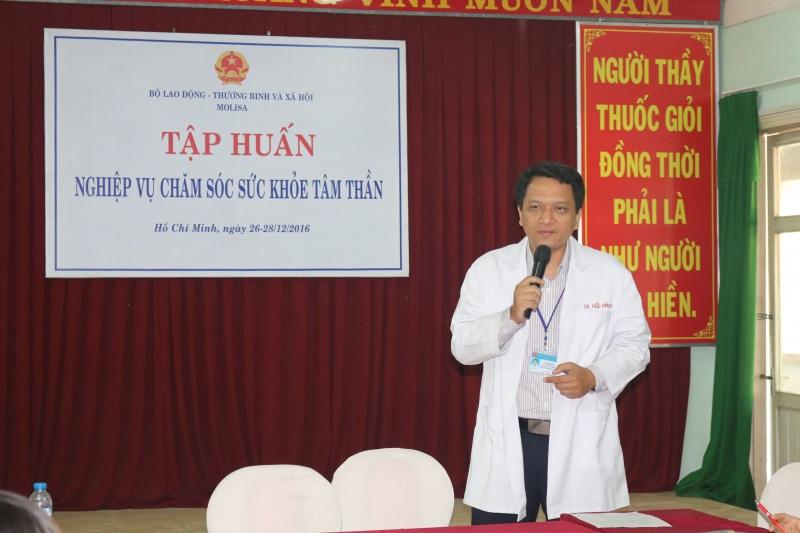 Bác sĩ Lâm Hiểu Minh là bác sĩ tâm thần giỏi ở tphcm