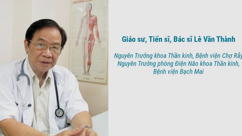 GS.TS Lê Văn Thành là bác sĩ tâm thần giỏi ở tphcm