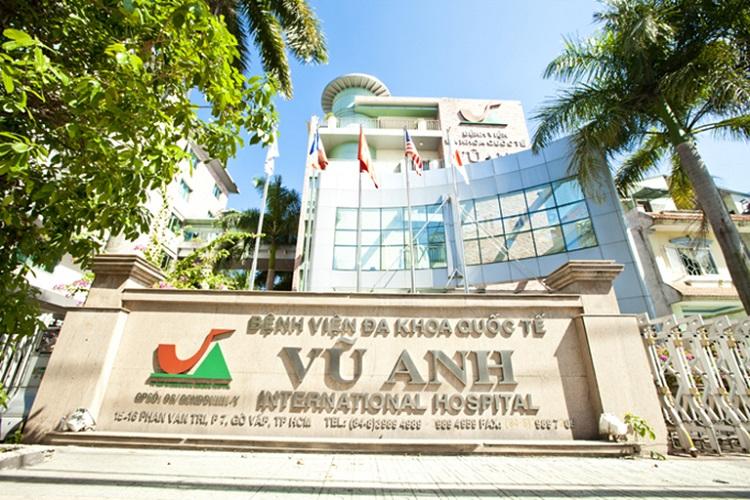 Bệnh viện Đa khoa Quốc tế Vũ Anh là bệnh viện tư nhân tốt ở Sài Gòn