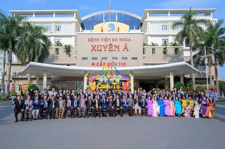Bệnh viện đa khoa Xuyên Á thuộc danh sách các bệnh viện tư nhân TPHCM