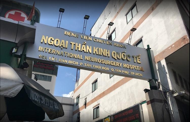 Bệnh viện khoa Ngoại Thần kinh Quốc tế - bệnh viện tư nhân tốt TPHCM