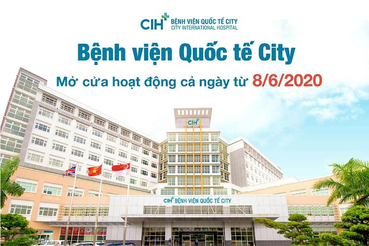 Bệnh viện quốc tế City là bệnh viên tư nhân TPHCM tốt nhất