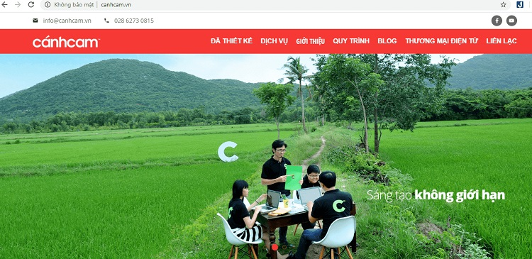 công ty thiết kế website uy tín