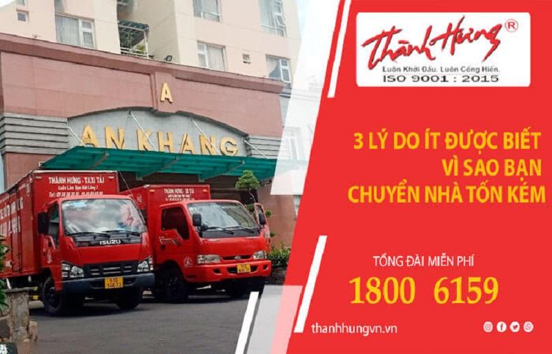 Chuyển văn phòng Thành Hưng là dịch vụ chuyển văn phòng tphcm