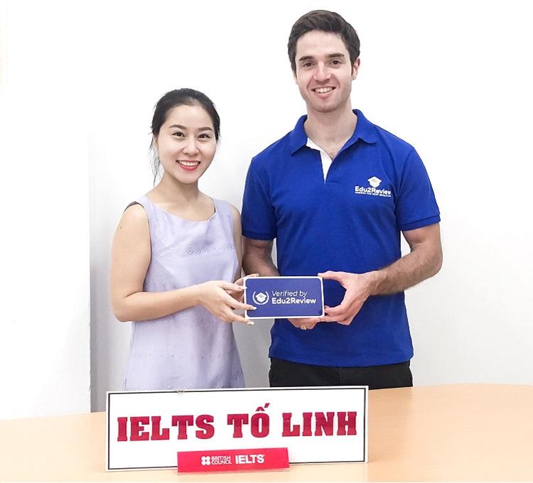 IELTS Tố Linh – trung tâm của cô Trần Tố Linh