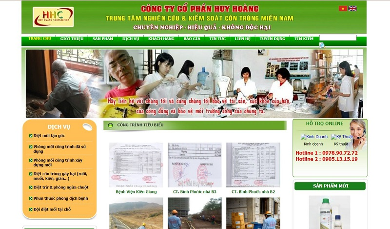 Công ty diệt muỗi Huy Hoàng tại TPHCM