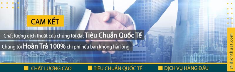 Công ty iDichThuat – Chuyên dịch thuật chuyên ngành đa ngôn ngữ, có công chứng bản dịch nhanh