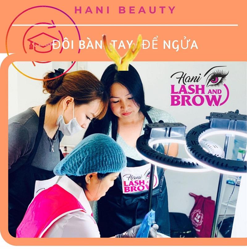 Học phun xăm thẩm mỹ ở Hani Beauty