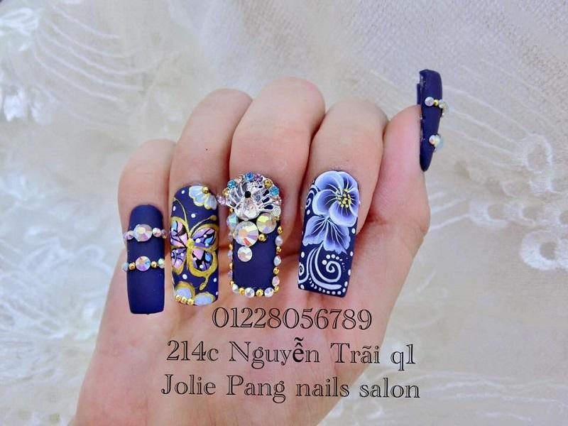 Tiệm làm nail đẹp ở TPHCM Jolie Pang nail Jolie