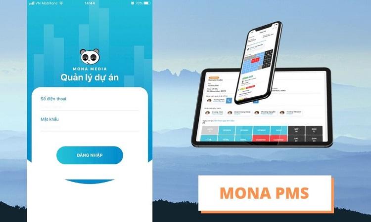 Công ty phần mềm web-app Mona Media
