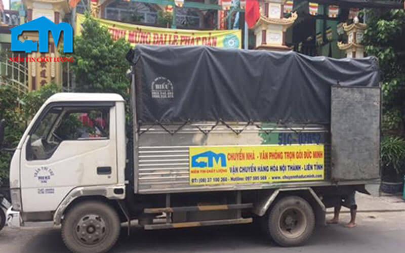 Taxi tải Đức Minh là dịch vụ taxi tải hcm uy tín