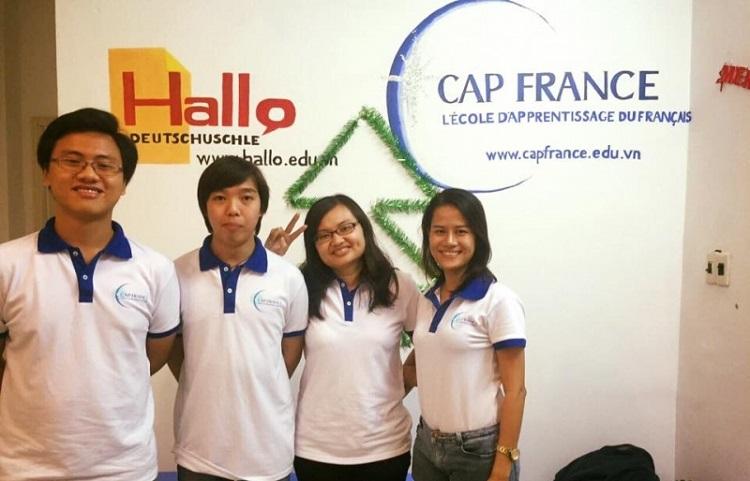 Cap France là một trong những trung tâm dạy tiếng Pháp ở TPHCM nổi tiếng hàng đầu