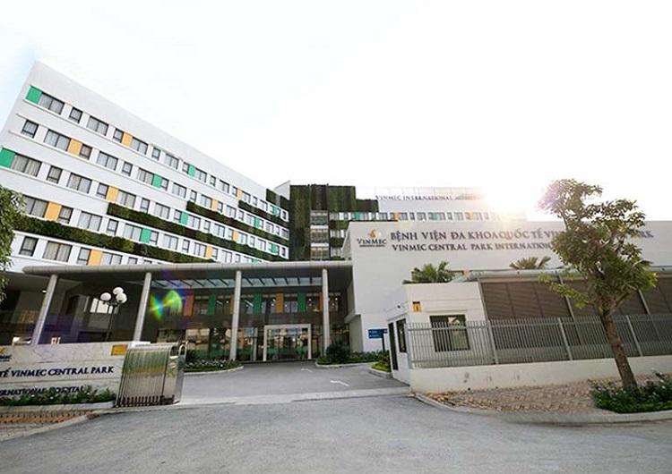 Bệnh viện Đa Khoa Quốc Tế Vinmec Central Park là bệnh viện tư nhân tốt TPHCM