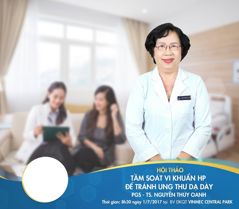 Phó giáo sư, Tiến sĩ, Bác sĩ Nguyễn Thúy Oanh là bác sĩ khám tiêu hóa giỏi ở Sài Gòn