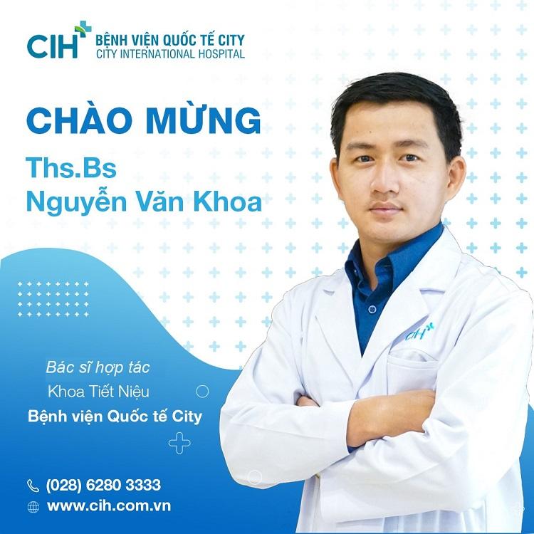 ThS. BS. Nguyễn Văn Khoa - bác sĩ tiêu hóa giỏi ở Sài Gòn