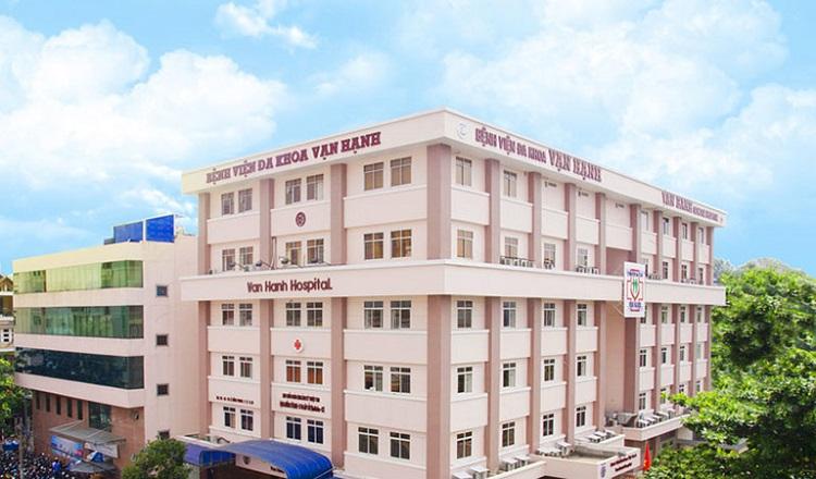 Bệnh viện Đa khoa Vạn Hạnh - nội soi dạ dày ở đâu tốt nhất tphcm