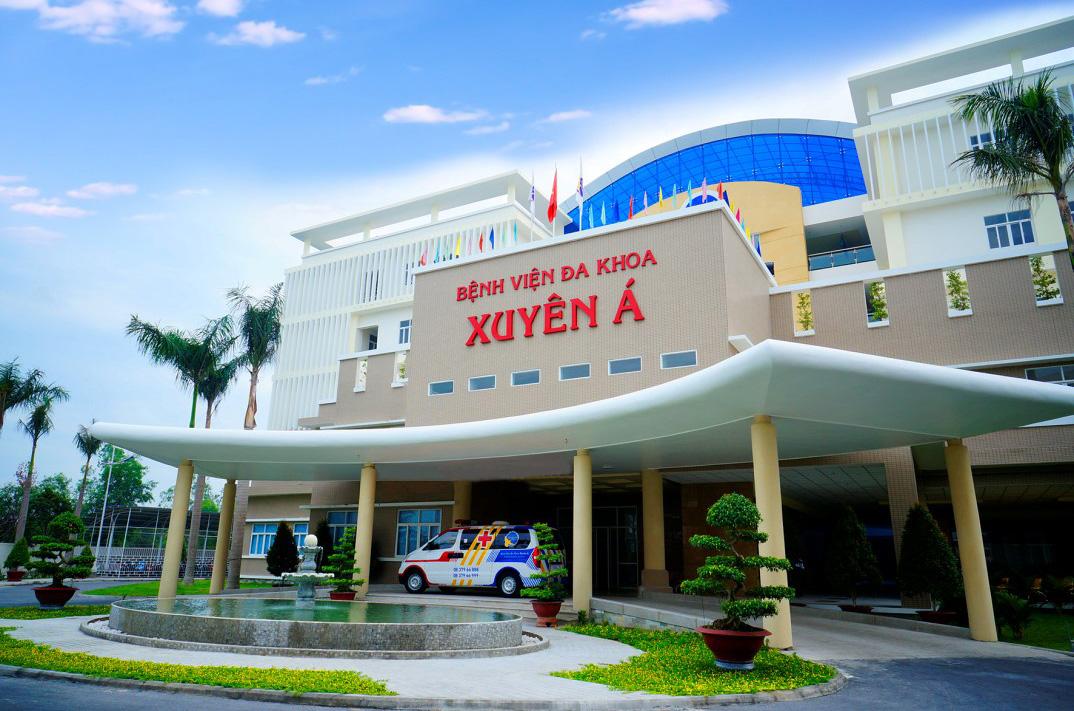 Bệnh viện đa khoa Xuyên Á - bệnh viện khám tiền hôn nhân tốt ở TPHCM