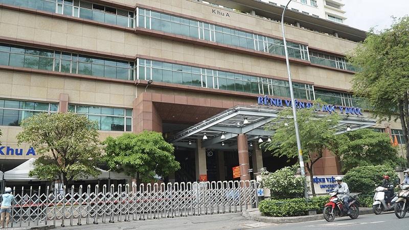Bệnh viện Đại học Y Dược TP.HCM là các bệnh viện lớn ở thành phố Hồ Chí Minh