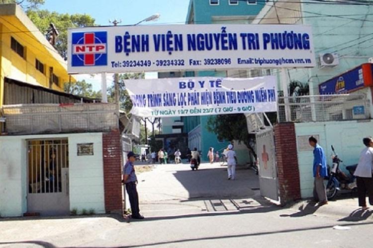 Bệnh viện Nguyễn Tri Phương TPHCM