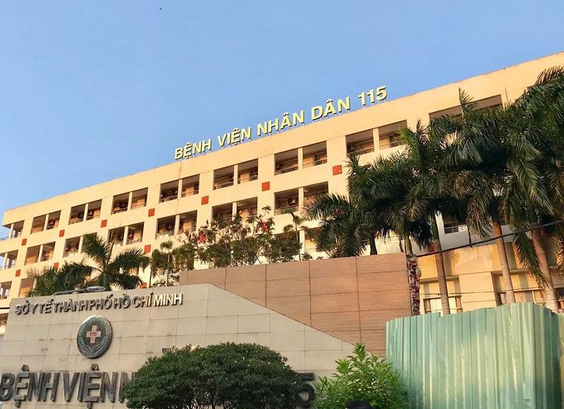 Bệnh viện nhân dân 115 là bệnh viện xương khớp tphcm tốt nhất
