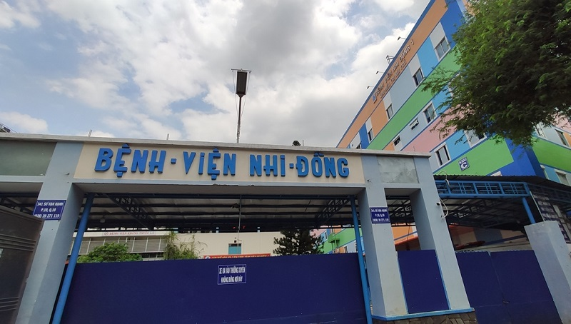 Bệnh viện Nhi Đồng là một trong các bệnh viện lớn ở TPHCM