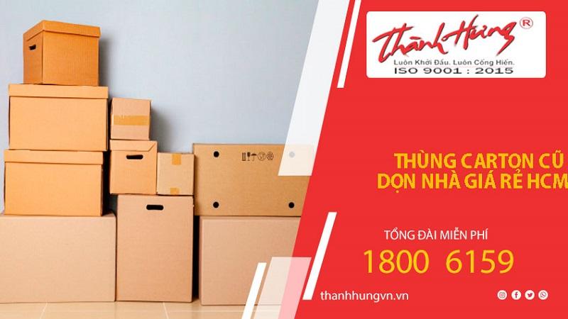 Dịch vụ chuyển nhà trọn gói HCM Thành Hưng