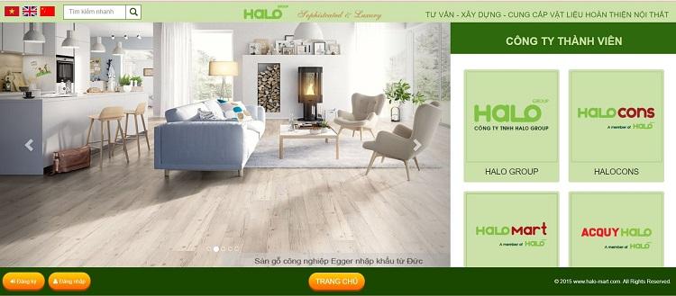 Công ty Halo Group - cửa hàng vật liệu xây dựng ở TPHCM