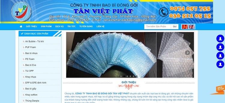 Công ty TNHH bao bì đóng gói Tân Việt Phát - công ty sản xuất bao bì ni lông tốt nhất