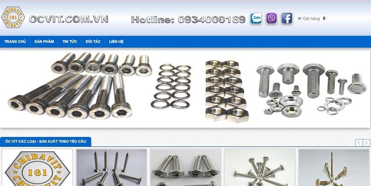 công ty sản xuất ốc vít tại TPHCM
