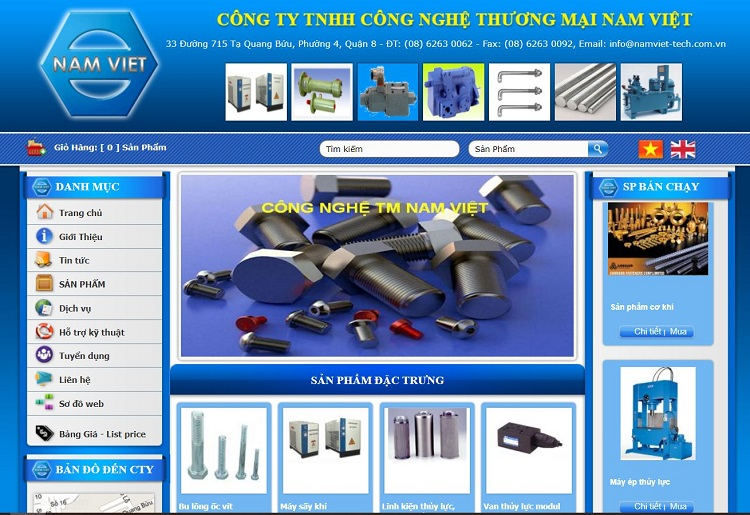 Công ty TNHH Công nghệ Thương Mại Nam Việt