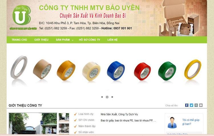 Công ty TNHH MTV Bảo Uyên