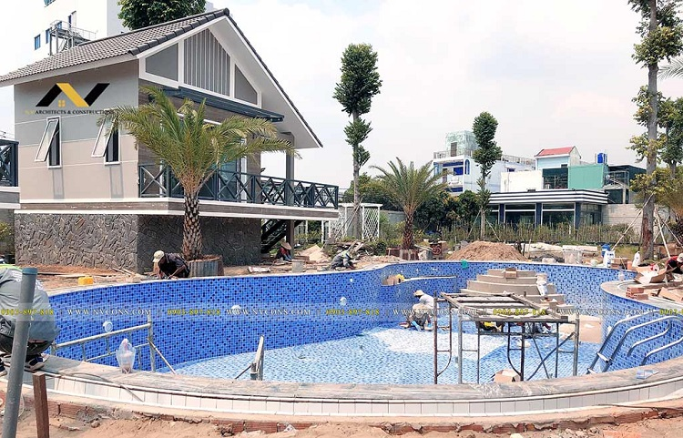 NVCONS là công ty xây dựng hồ bơi uy tín tại TPHCM