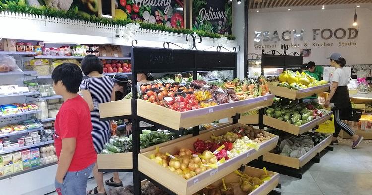 Cửa hàng thực phẩm 3 Sạch - cửa hàng rau sạch tại TPHCM