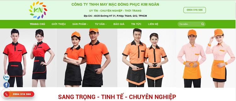 Công Ty TNHH May Mặc Đồng Phục Kim Ngân