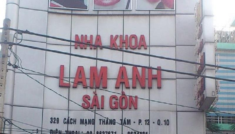 Nha khoa Lam Anh ở quận 10