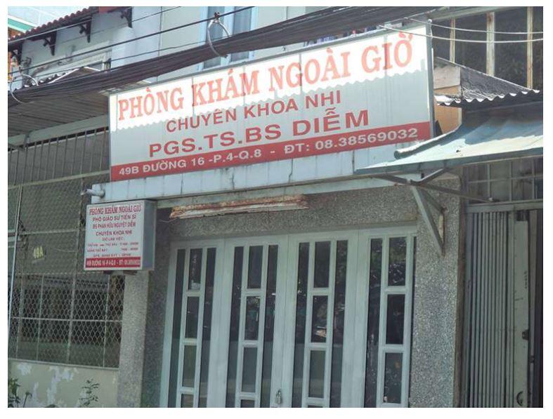 PGS.TS.BS Phan Hữu Nguyệt Diễm là bác sĩ chuyên khoa nhi ở TPHCM