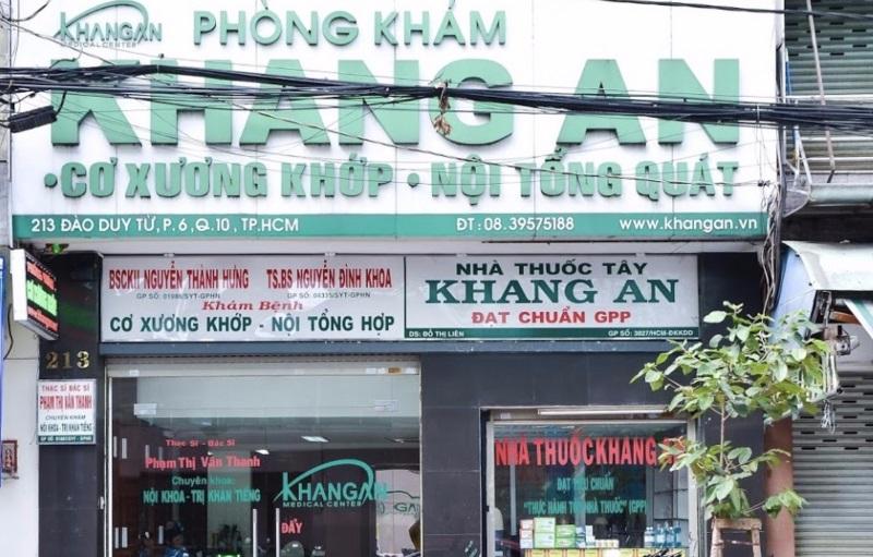 Phòng khám xương khớp Khang An