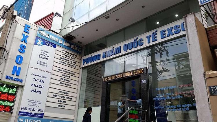 Phòng khám Quốc tế Exson - Khám đại tràng ở đâu tốt TPHCM