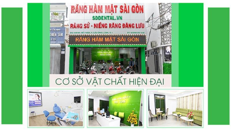 Phòng khám răng hàm mặt Sài Gòn