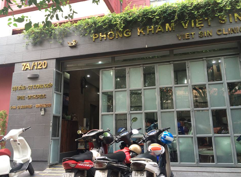 Phòng khám Việt Sin là phòng khám xương khớp TPHCM uy tín