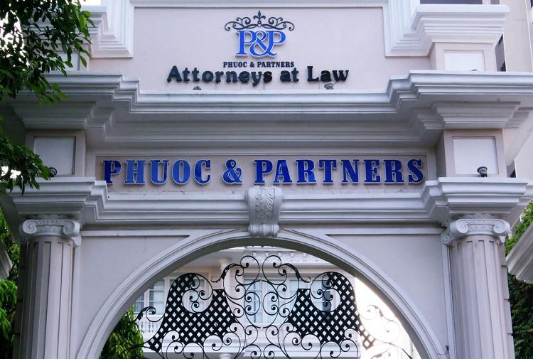 Công ty Phước và các Đồng sự là văn phòng luật sư TPHCM