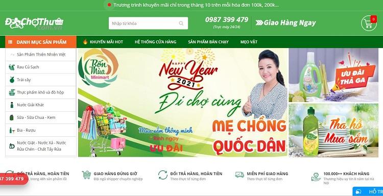 Dịch vụ đi chợ thuê - siêu thị thực phẩm online hcm
