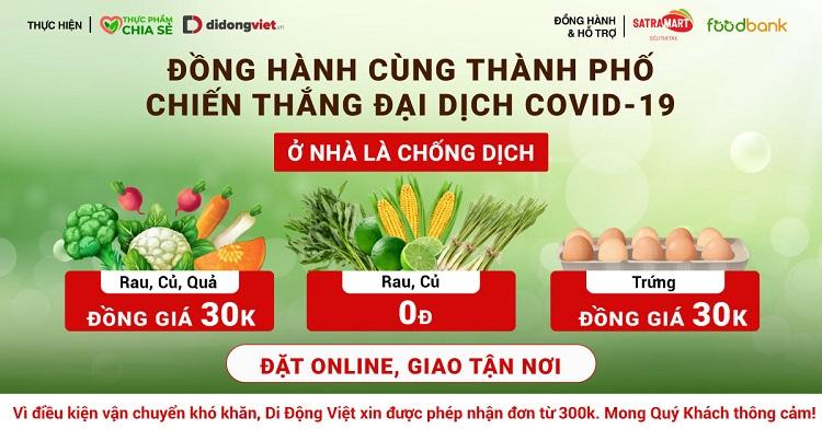 Thực phẩm chia sẻ – Di Động Việt
