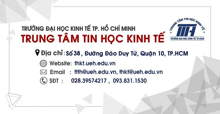 Trung tâm Tin học Kinh tế - Đại học Kinh tế TPHCM - luyện thi MOS TPHCM