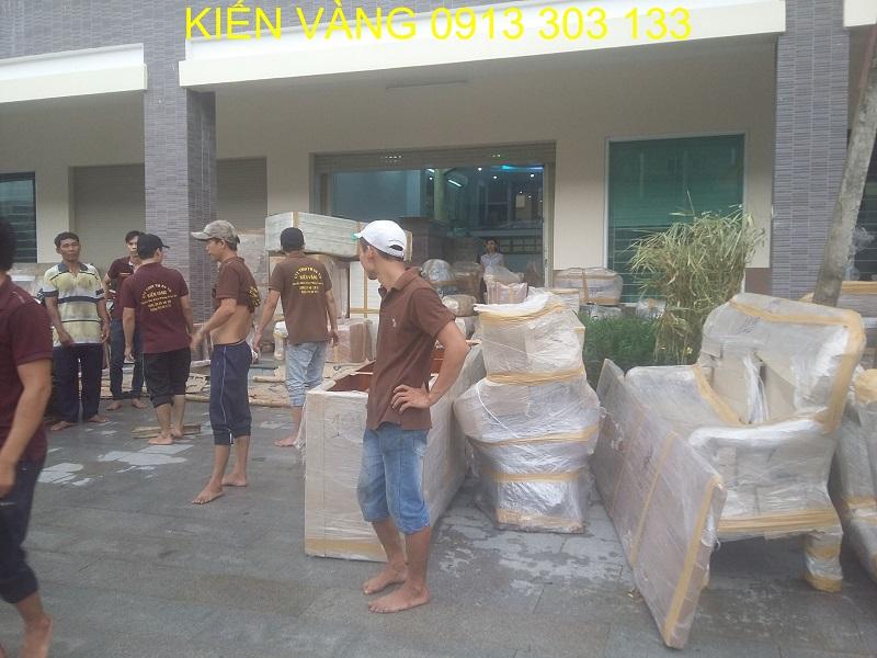 Vận chuyển nhà trọn gói Kiến Vàng HCM