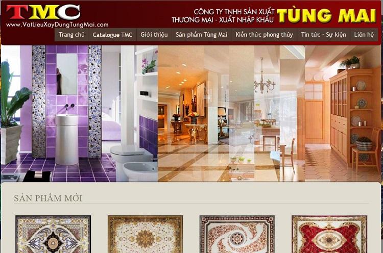 Tùng Mai - cửa hàng vật liệu xây dựng tại TPHCM