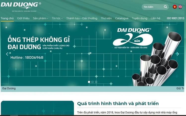 inox Đại Dương - cửa hàng bán inox giá rẻ tại TPHCM