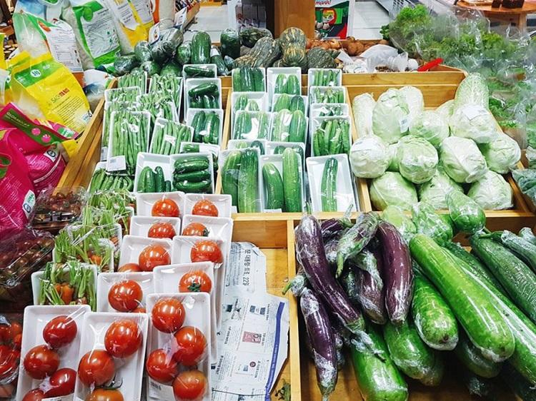 Cửa hàng rau sạch Organic Food - cửa hàng rau sạch ở TPHCM